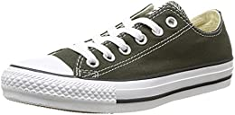 converse all star verde basse donna