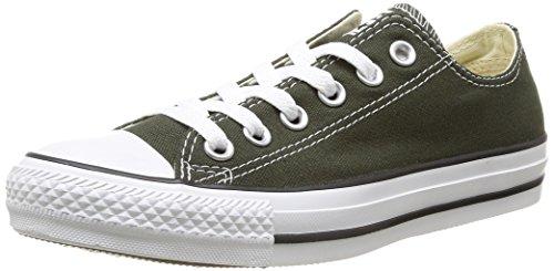 Converse Chuck Taylor All Star Ox, Unisex-Erwachsene Sneaker  GrÃ1/4n Vert (Vert Foncé) 41