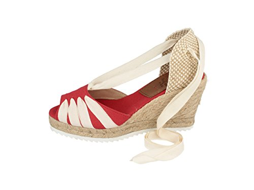 Gioseppo Odense, Espadrilles femme Rouge