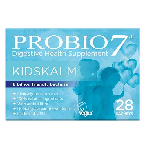 Probio7 Kidskalm | Probiotika für Kinder | Nahrungsergänzungsmittel für Kinder / Kinder (28 Beutel) | Jeder Beutel liefert 6 Milliarden