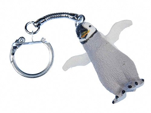Portachiavi pinguino Miniblings ciondolo a forma di uccello di mare antartico
