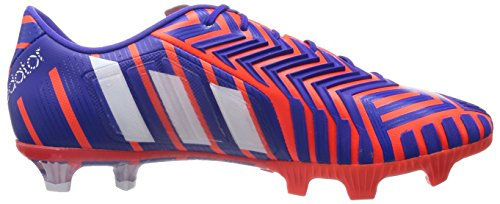 Adidas Predator Instinct Firm Ground, Chaussures de Football Homme Multicolore (solar Red / Ftwr White / Night Flash)