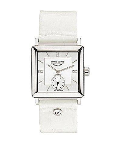 BRUNO Söhnle Damen-reloj analógico de pulsera de cuarzo cuero 17-13120-291