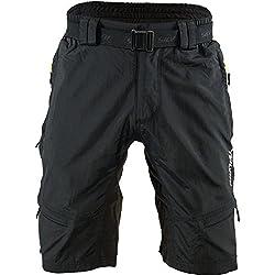 SILVINI Herren RANGO Mtb Hose, Black-Lime, XL