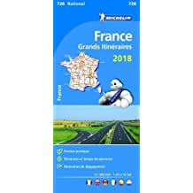 France Route Planning 2018 - Michelin National Map 726 (Michelin National Maps)