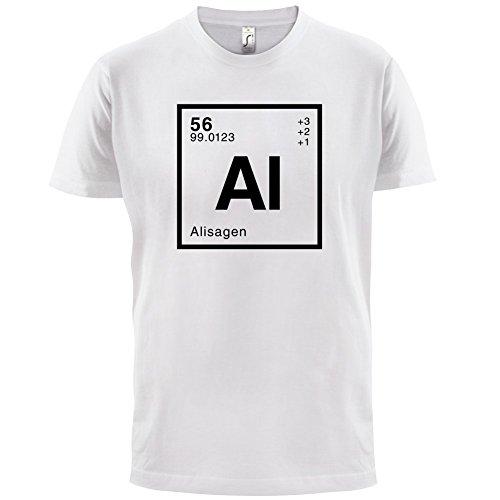Alisa Periodensystem - Herren T-Shirt - 13 Farben Weiß