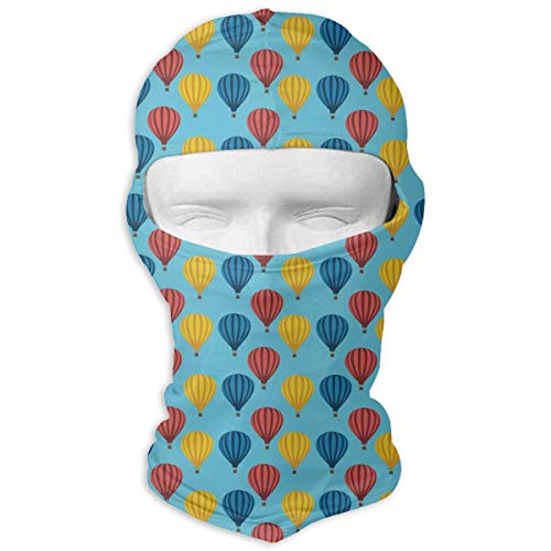 Jxrodekz Rainbow Hot Air Balloon Balaclava Unisex Seamless Volle Gesichtsmaske Magic Bandana (Griechische Männer Hot)