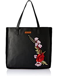 Kanvas Katha Women's Tote Bag (Black)