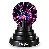 Sfera al plasma, magica sfera a globo elettrica Theefun sensibile al tatto, SOLO USB