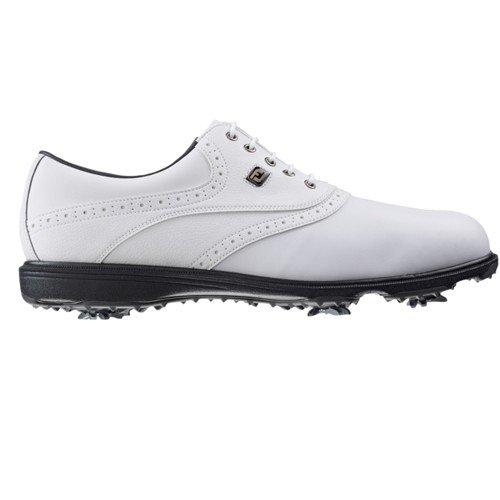 Foot Joy Hydrolite Chaussures de Golf pour Homme, Blanc/Grains Blancs, Homme
