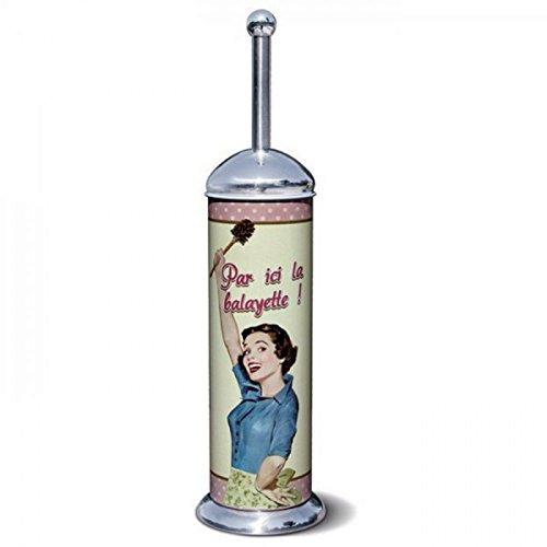 WC-Bürste Service Water Klassischer Vintage Design Frankreich Metall 2113087124 - Paris Wc-bürste