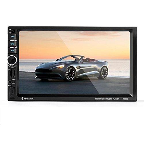 Car GPS Stereo Radio - Kingwo 7'' HD Bluetooth Touch Screen Car GPS Stereo Radio 2 DIN FM/MP5/MP3/USB/AUX