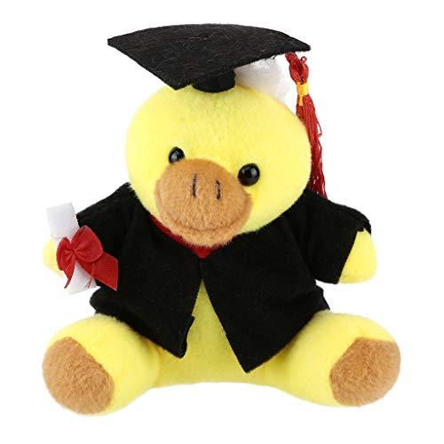 Myfilma  Geschenke für Sie jetzt Klasse von 2019 Plüsch-Abschlussspielzeug mit Hut, Hund/Ente/AFFE/Panda/Frosch-Cartoon-Plüschtier