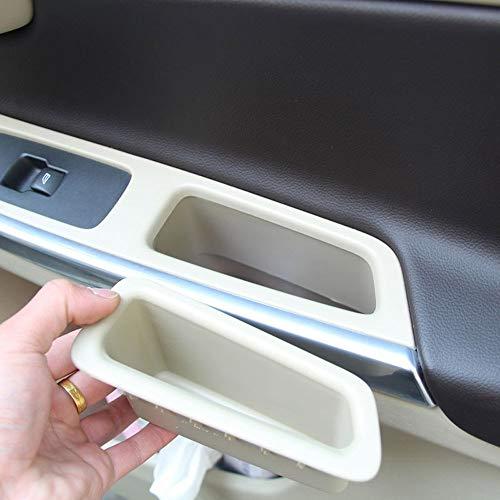 ABS en Plastique De Voiture Organisateur Accessoires Porte Avant Boîte De Rangement Poignée Porte-Récipient Beige pour XC60 2014-2017