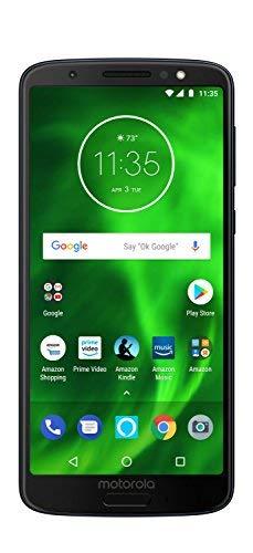 vbcnfgdntdy Moto G6 - 64 GB - Unlocked (AT&T/Sprint/T-Mobile/Verizon) - Deep Indigo - Prime Exclusive Phone Verizon Zebra