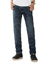 Demon&Hunter 8003x29–Jean coupe droite pour homme, taille 29W/Regular Couleur8003/bleu nostalgie