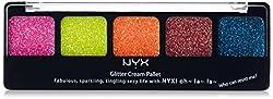 GCP-02 Eden : NYX Glitter Cream Palette 02 Eden