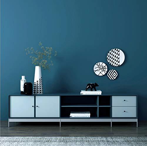 Hochwertige Vliestapete Reine Farbe Schlafzimmer Wohnzimmer Restaurant Tapete 10m * 53cm MIU-4
