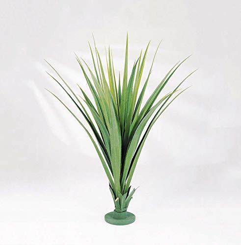 artplants Set 'Kunstpflanze Pandanus + Gratis UV Schutz Spray' - Künstliche Pandanus Palme LINTANG, grün, 95 cm
