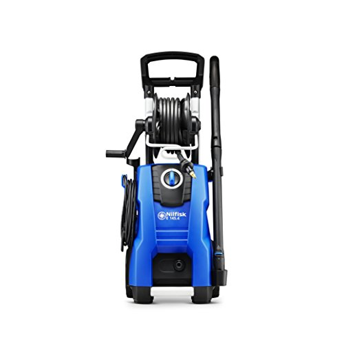 Nilfisk E 145 bar Power Washer with 2100W Induction Motor, Blue