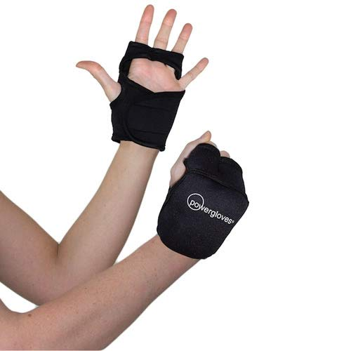 Powergloves Powerhoop Workout-Handschuhe mit Gewichten (verstellbar) by Powerhoop