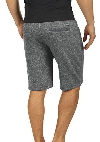 BLEND Rigins Herren Sweat-Shorts kurze Hose Sport-Shorts aus 100% Baumwolle Pewter Mix (70817)