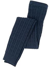 Hatley Navy Cable Knit Tights Leggings de deporte para Niñas