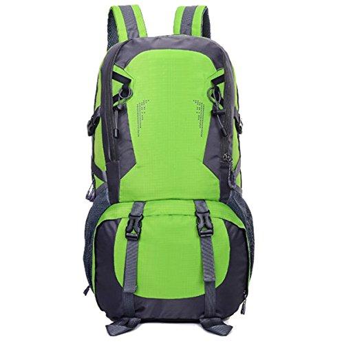 Impermeabile arrampicata All'aperto Le spalle Sport Viaggio Ciclismo Escursionismo Zaino (verde) verde