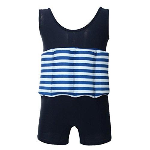 Kinder UV Bojen-Badeanzug Float Anzug Badebekleidung Bademode mit Entnehmbare Schwimmbojen Anpassbaren Schwimmers für Jungen und Mädchen Learn (Jungen Für Badeanzug)