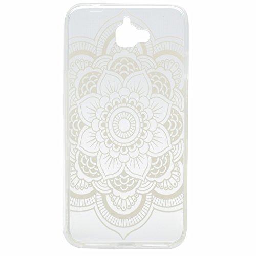 Voguecase® für Apple iPhone 6 Plus/6S Plus 5.5 hülle, Schutzhülle / Case / Cover / Hülle / TPU Gel Skin (Blau Schmetterling 14) + Gratis Universal Eingabestift Lace Teppich