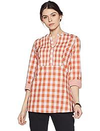 Amazon Brand - Myx Women's Workwear Short Kurta