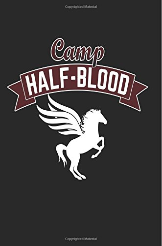 Camp Half-Blood: Winged Unicorn Graphic Notebook