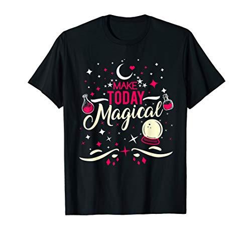 Sie Eine Machen Kostüm Halloween Hausgemachte - Machen Sie heute magisches Halloween T-Shirt