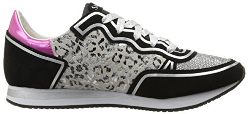 ... Skechers OG 98 - Leopard Love Damen Wildleder Turnschuhe Black/Leopard