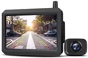 Auto Vox W7 5 Lcd Kabellos Digital Rückfahrkamera Set Mit Eingebautem Funksender Wireless Einparkhilfe Wasserdicht Ip68 Nachtsicht Auto