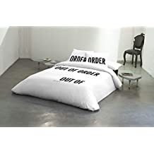 AMAYA ARZUAGA OUT OF ORDER (Funda nórdica + sábana bajera + funda almohada) (Cama 150)