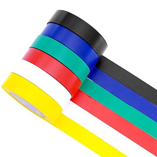 Elektro Isolierband 10 m verschiedene Farben