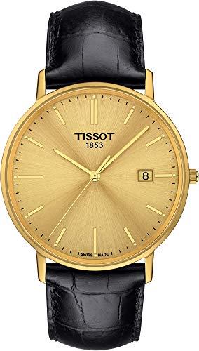 Tissot GOLDRUN 18KT GOLD T922.410.16.021.00 Reloj de Pulsera para hombres