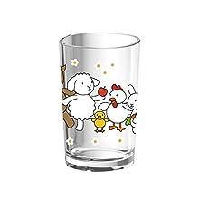 Emsa 513720 Kids Bicchiere Bambini, Decorazione Farm Family, Verde