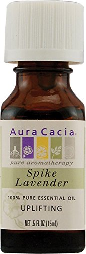Huile 100% Pure Essential, Spike Lavender, 0,5 fl oz (15 ml) - Aura Cacia