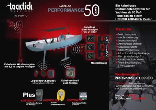 Raymarine PP50-868 Micronet Performance Pack für 50 Fuss-Segelyachten Pack Raymarine-autopiloten