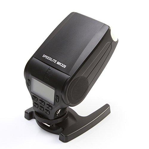 Fotga Meike MK-320 TTL Mini Speedlite Flash Luce Mount Scarpe Flash Speedlite per Olympus OM-D E-M5 II E-M10 PEN E-PL7 E-PL6