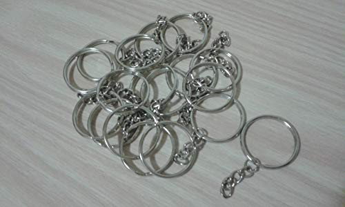 Packung mit 20 Ringen für Schlüsselring mit Verteiler und Kette, ideal für Handwerk Ringe, Ergebnisse -