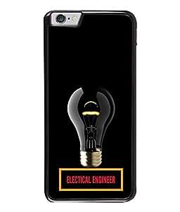 PrintVisa Designer Back Case Cover for Apple iPhone 6s Plus :: Apple iPhone 6s+ (Electrical Engineer Design In Black)