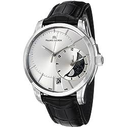 Maurice Lacroix Men's PT6118-SS001131 Pontos Silver Dial Watch