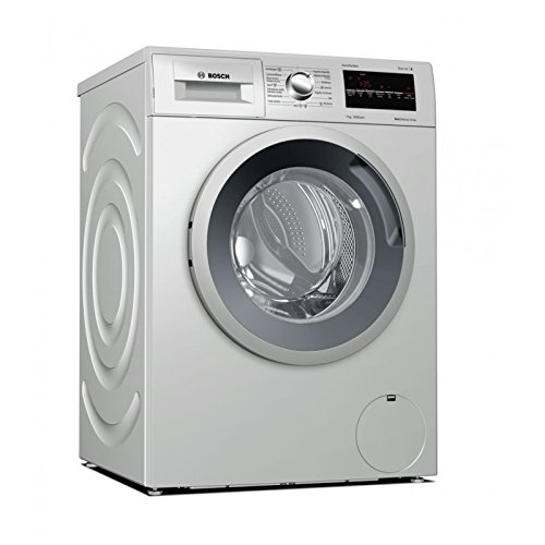 Bosch WAN2426XES Independiente Carga frontal 7kg 1175RPM A+++ Acero inoxidable - Lavadora...