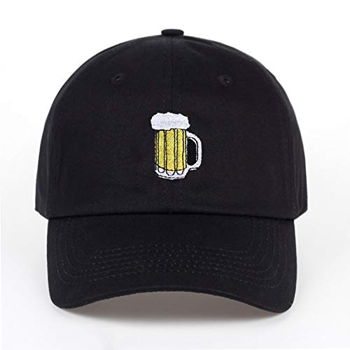 JKYJYJ NCasual Hüte Bier Hockey Baumwolle Baseball Cap Mode Männer Und Frauen Erwachsenen Hip Hop Hut Sommer Sonnencreme