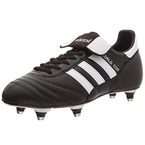 Adidas - World Cup - Chaussures de football - Mixte Adulte - Noir (Black/Running White (Classic Fit Rugby)