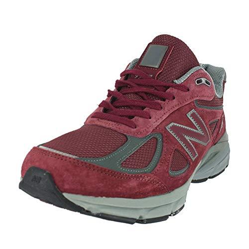 New Balance Men's M990V4 Running Shoe, Size: 14 Width: 2E Color: Burgundy