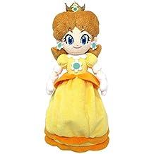 """Sanei Super Mario All Star Collection 9.5"""" Daisy Plush, Small"""